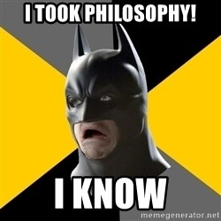 Bad Factman - i took philosophy! i know