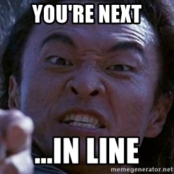 Shang Tsung - You're Next ...In Line