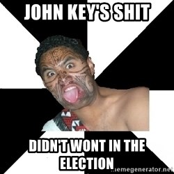 New Zealand - John Key's SHIT Didn't wont in the election