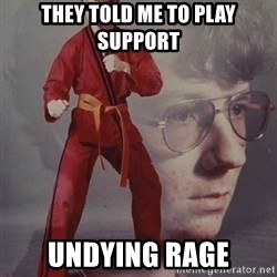 PTSD Karate Kyle - THEY TOLD ME TO PLAY SUPPORT Undying Rage