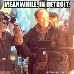 Clarence Boddicker - meanwhile, in detroit.