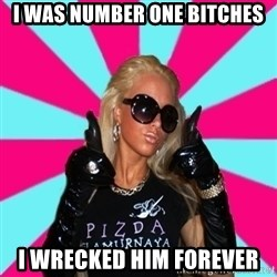 Glamour Girl - I was number one bitches I wrecked him forever
