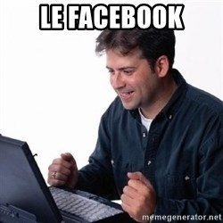 Lonely Computer Guy - le facebook