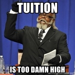 Jimmy Mcmillan - Tuition is too damn high