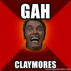 Angry Arnold - GAH claymores