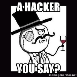 Lulzsec - A hacker You say?
