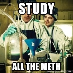 breaking bad - Study all the meth