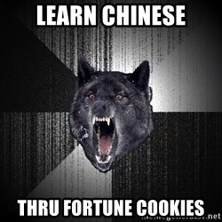 Insanity Wolf - Learn chinese thru fortune cookies