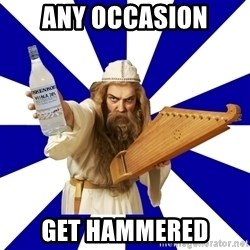 FinnishProblems - any occasion get hammered