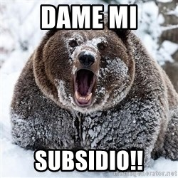 Clean Cocaine Bear - Dame mi Subsidio!!