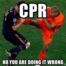Netherlands - CPR No you are doing it wrong