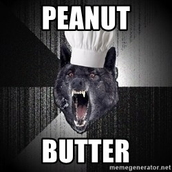 Insanity Wolf - PEANUT BUTTER