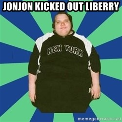 jonjontherestarlol - jonjon kicked out liberry