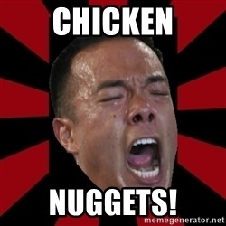 angryCoach - chicken nuggets!