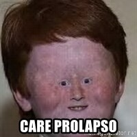 Generic Ugly Ginger Kid - CARE PROLAPSO