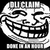Troll Faces - dli claim done in an hour