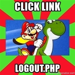 Luelinks - CLICK LINK logout.PHP