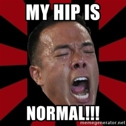 angryCoach - My hip is Normal!!!