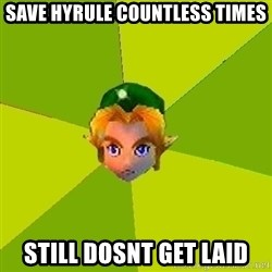 Quest Advice Link - SAVE HYRULE COUNTLESS TIMES STILL DOSNT GET LAID