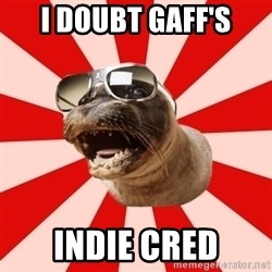 Tha Hipster Seal - i doubt gaff's indie cred