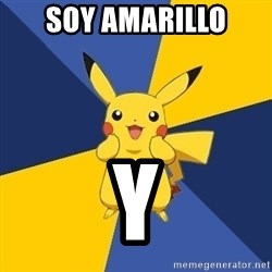 Pokemon Logic  - soy amarillo y