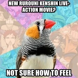 Former Otaku Finch - new rurouni kenshin live-action movie? not sure how to feel