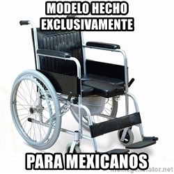 wheelchair watchout - MODELO HECHO EXCLUSIVAMENTE PARA MEXICANOS