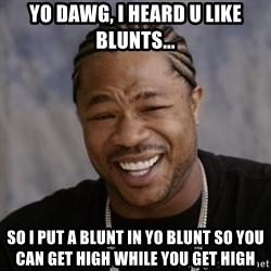 xzibit-yo-dawg - Yo Dawg, i heard u like blunts... so i put a blunt in yo blunt so you can get high while you get high