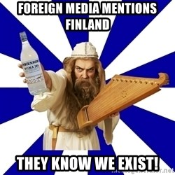 FinnishProblems - Foreign media mentions finland They know we exist!