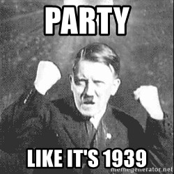 Disco Hitler - party like it's 1939