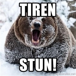 Clean Cocaine Bear - Tiren Stun!