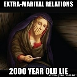 Mary Pregnancy Test - Extra-marital relations 2000 year old lie