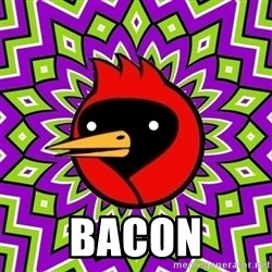 Omsk Crow - bacon