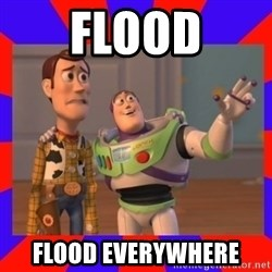 Everywhere - flood flood everywhere