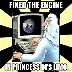 2012 World Patch Notes - fixed the engine in Princess Di's limo