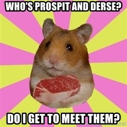 The Confused Hamsteak - who's prospit and derse? do i get to meet them?