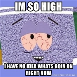 Towelie - im so high i have no idea whats goin on right now