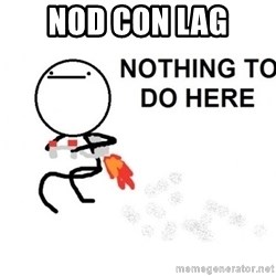 Nothing To Do Here (Draw) - NOD CON LAG