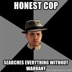 L A Noire Cole - honest cop searches everything without warrant