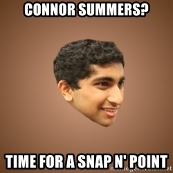 Handsome Indian Man - Connor Summers? Time for a snap n' point