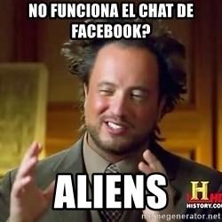 Giorgio A Tsoukalos Hair - NO FUNCIONA EL CHAT DE FACEBOOK? ALIENS