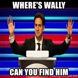 The Ed Miliband Game Show - Where's Wally Can you find him