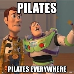 ORIGINAL TOY STORY - pilates pilates everywhere