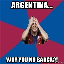 Lionel Messi Problems - Argentina... Why you no Barca?!