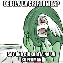 Pokemon Reaction - DEBIL A LA CRIPTONITA? SOY UNA CHIKORITA NO UN SUPERMAN
