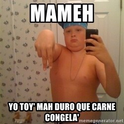 Cookie Gangster - mameh  yo toy' mah duro que carne congela'