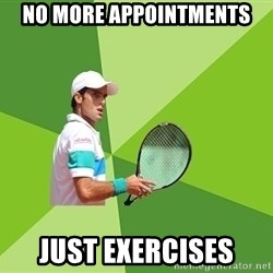 Tennisyst - no more appointments just exercises