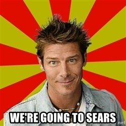 Ty Pennington - We're going to sears