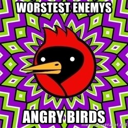 Winged Doom - worstest enemys angry birds