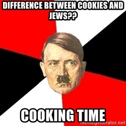 Advice Hitler - DifferEnce between cookies and jews?? Cooking Time